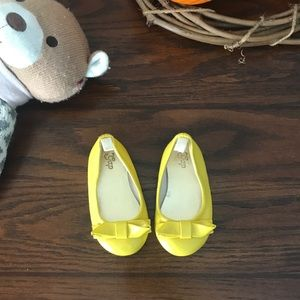 🧸Baby Gap Yellow Bow Shoes 🧸